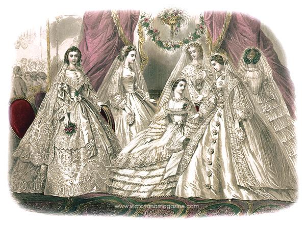 Victorian Godey 1861 image