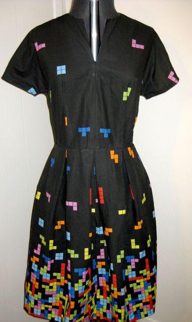 Tetris dress front