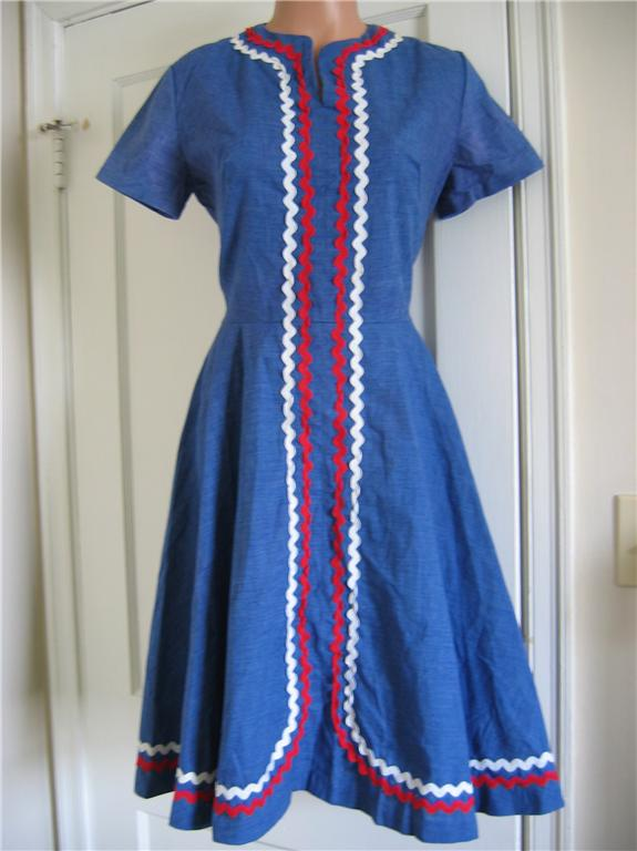 rickrack dress