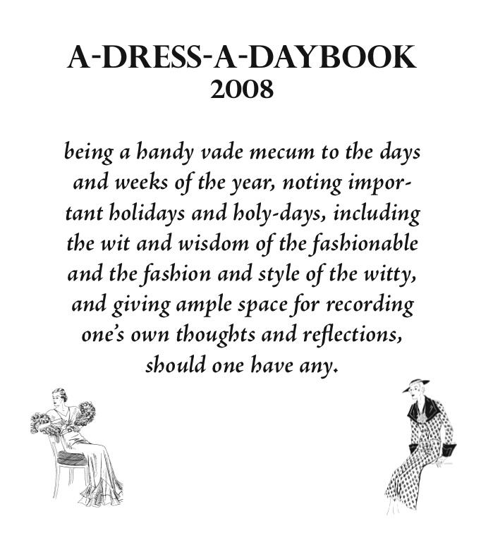 2008 Daybook