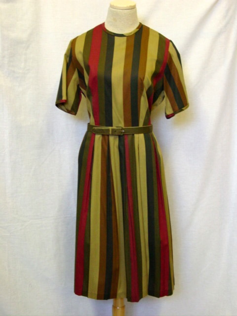 striped olive dress drabble