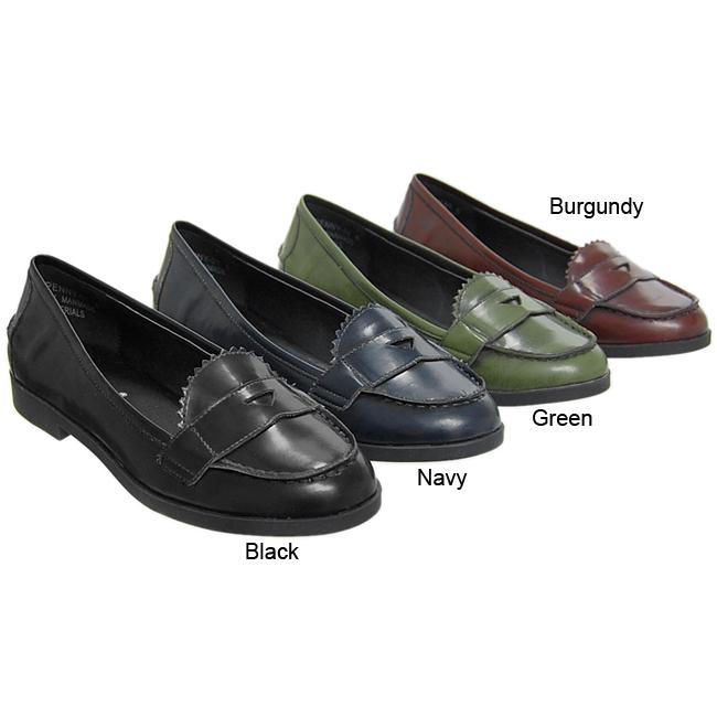 journee women's penny loafers