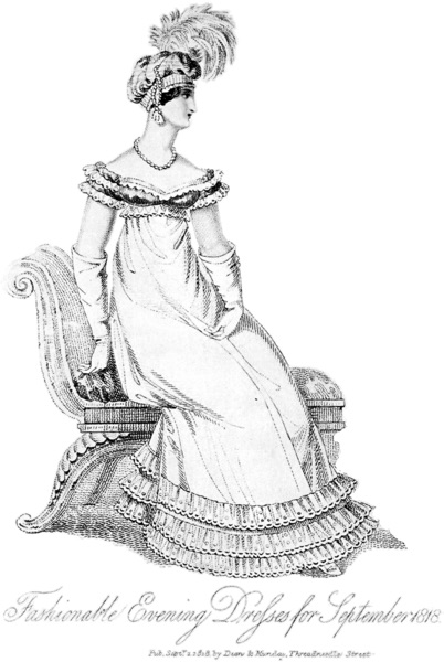 Evening Dresses for September 1818