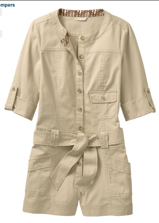 Old Navy Safari Romper