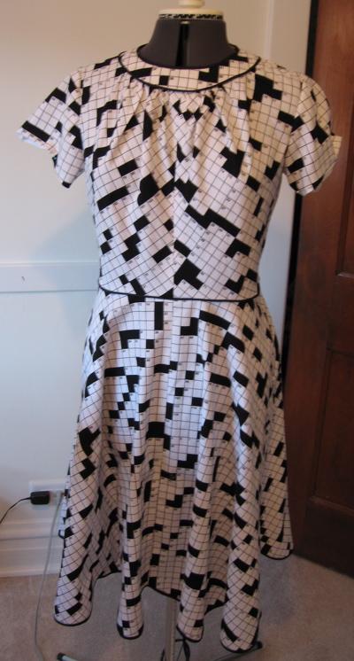 puzzle dress