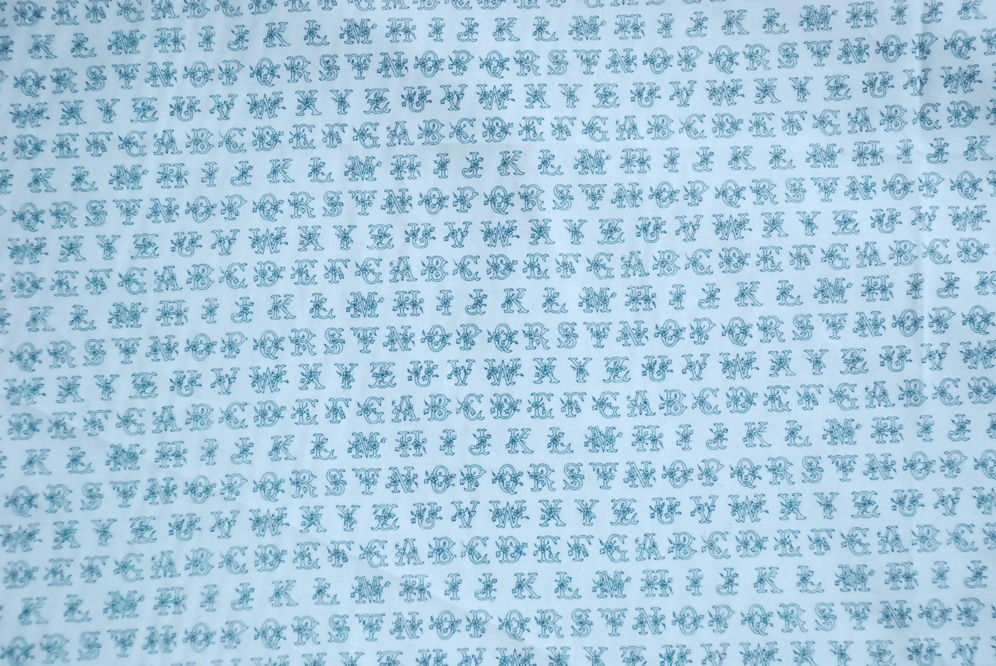 japanese alphabet fabric