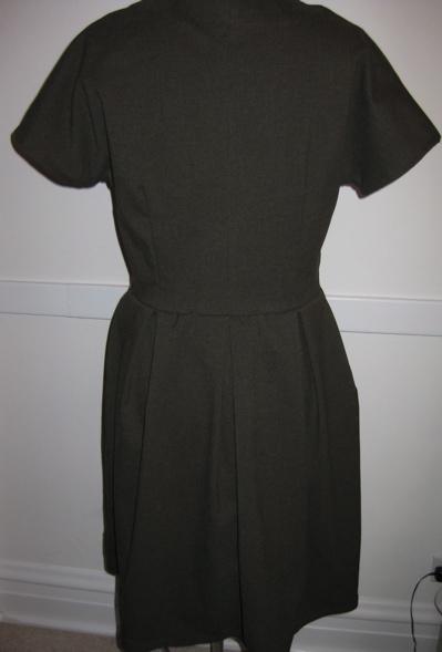 Olive Liberty-facing dress