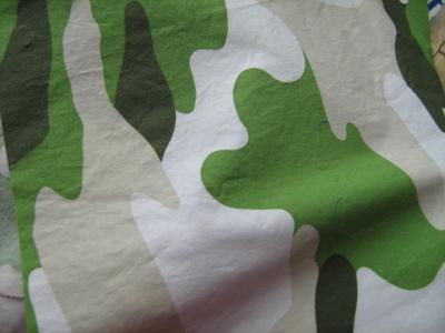 green camo fabric